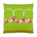 cushion case - 2 sides - flower faith v.2 - Cushion Case (Two Sides)