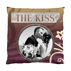 Mr  & Mrs  2 Sided Cushion Case By Lil    Standard Cushion Case (two Sides)   Acfpmm1nf6sp   Www Artscow Com Back