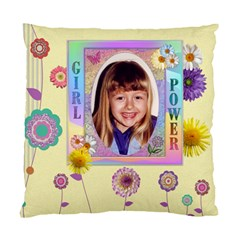 Girl Power 2 Sided Cushion Case By Lil    Standard Cushion Case (two Sides)   D1t5hvmkkoc7   Www Artscow Com Front