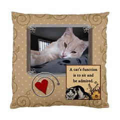 My Little Purr Ball 2 Sided Cushion Case By Lil    Standard Cushion Case (two Sides)   3ijw3wzbzpmx   Www Artscow Com Back