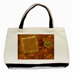 You are wonderful to me gold heart tote - Classic Tote Bag