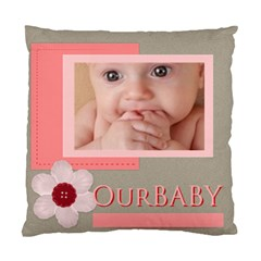 Our Baby By Joely   Standard Cushion Case (two Sides)   0l7jyus3i8v2   Www Artscow Com Back