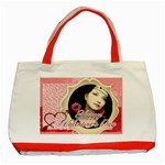 Love bag - Classic Tote Bag (Red)
