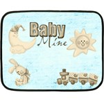 Baby Mine Mini Fleece Blanket - Fleece Blanket (Mini)