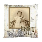 Baby Mine Cute as a Button Double Sided Cushion - Standard Cushion Case (Two Sides)