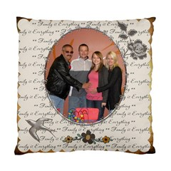 My Family 2 Sided Cushion Case By Lil    Standard Cushion Case (two Sides)   Jyat8g3qglls   Www Artscow Com Back