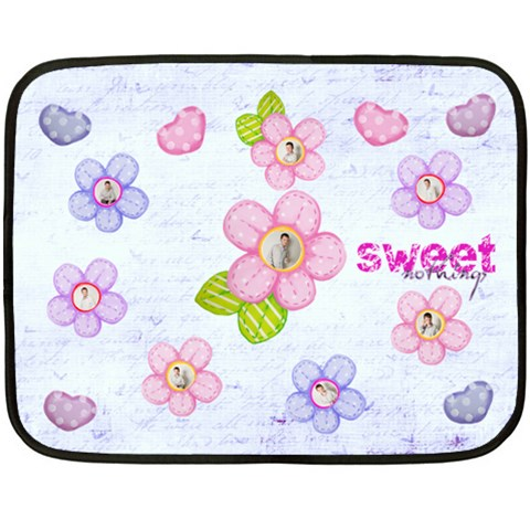 Sweet Nothings Floral Multi Frame Mini Fleece By Catvinnat   Fleece Blanket (mini)   M5sijs2yd3nq   Www Artscow Com 35 x27 Blanket