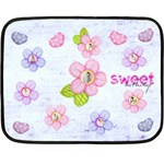 Sweet Nothings Floral Multi Frame Mini Fleece - Fleece Blanket (Mini)