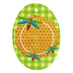 Buttercup Oval Ornament 1 - Ornament (Oval)