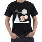 white christmas - Men s T-Shirt (Black)