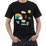 for Kids  - Black T-Shirt