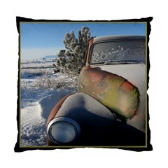 54 Chevy Winter 2 Sided Cushion Case By Ellan   Standard Cushion Case (two Sides)   G09njng8zcow   Www Artscow Com Front