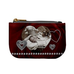 Red Hearts Mini Coin Purse By Lil    Mini Coin Purse   Ttsr3m2hsre3   Www Artscow Com Front