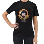 Women s Black T-Shirt  - You re the Star!