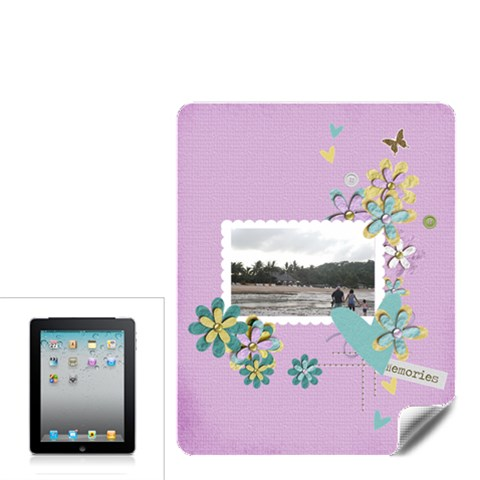 Apple Ipad Skin  Memories By Jennyl   Apple Ipad Skin   H6zq5slm4cu0   Www Artscow Com Front
