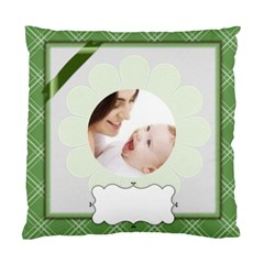 Baby Green Theme By Joely   Standard Cushion Case (two Sides)   K0pixjj2bu9x   Www Artscow Com Back