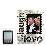 Live, Laugh,Love Apple iPad Skin