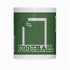 Touchdown (green And Blue) Mug 2 By Chelsea Winsor   White Mug   1jj6m053z9e6   Www Artscow Com Center