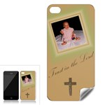 Trust in the Lord, IPhone 4 Skin - Apple iPhone 4 Skin