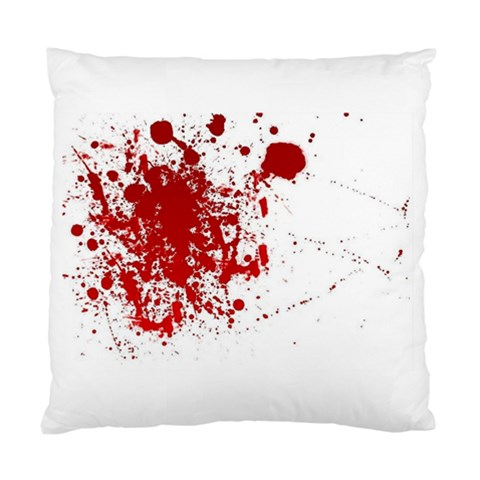 Blood Cushion Cover By Jonathan Larouche   Standard Cushion Case (one Side)   3bz4f7dbqxkp   Www Artscow Com Front