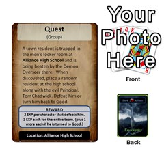 Jack Green Da Encounter Cards By Dan Keltner   Playing Cards 54 Designs   Qddgtonq7wn8   Www Artscow Com Front - ClubJ