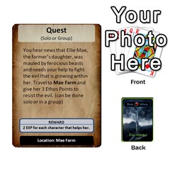 Queen Green Da Encounter Cards By Dan Keltner   Playing Cards 54 Designs   Qddgtonq7wn8   Www Artscow Com Front - ClubQ