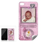 It s a Girl Apple iPhone 4 Skin