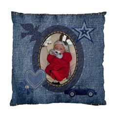 Denim Delight 2 Sided Cushion Case By Lil    Standard Cushion Case (two Sides)   C6u7mbmgaum9   Www Artscow Com Back