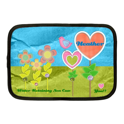 Heather s Laptop Case By Megan Front