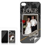 Love Forever Apple iPhone 4 Skin