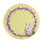 Spring Easter 2 Sided Ornament Round - Round Ornament (Two Sides)