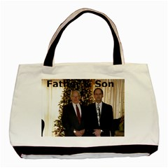 Father & Son Tote By Lisa Sturgis   Basic Tote Bag (two Sides)   Awdbrtoqwohb   Www Artscow Com Front