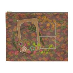 Shabby Spring Cosmetic Bag (xl) By Mikki   Cosmetic Bag (xl)   63fclsrinop4   Www Artscow Com Front