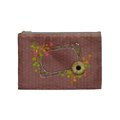Shabby Spring Cosmetic Bag (m) By Mikki   Cosmetic Bag (medium)   Ycl7ufp396rw   Www Artscow Com Front