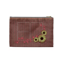 Shabby Spring Cosmetic Bag (m) By Mikki   Cosmetic Bag (medium)   Ycl7ufp396rw   Www Artscow Com Back