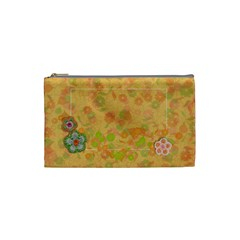 Shabby Spring Cosmetic Bag (s) By Mikki   Cosmetic Bag (small)   8yk9ekws00a1   Www Artscow Com Front