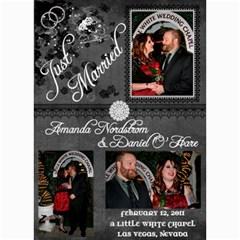 Wedding Announcement2 By Nordstrom Amanda   5  X 7  Photo Cards   Uucv8cuo1ymw   Www Artscow Com 7 x5 Photo Card - 5