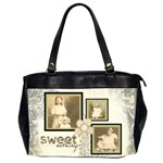 Sweet Nothings Oversized Office Bag - Oversize Office Handbag (Two Sides)