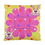 Funny Bunny cushion case - Cushion Case (Two Sides)