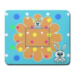 Funny Bunny mousepad - Large Mousepad