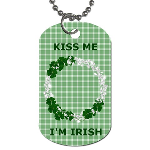 Dog Tag 1 Side Irish By Laurrie   Dog Tag (one Side)   Z31vefz9uufr   Www Artscow Com Front