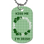 Dog Tag 1-side Irish - Dog Tag (One Side)