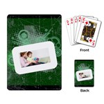 Family theme - Playing Cards Single Design