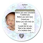 A Mother s Love 5  Magnet - Magnet 5  (Round)