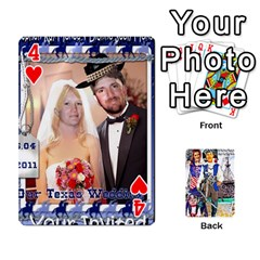 Ashleigh & Raul Quiroz Family s Cards By Pamela Sue Goforth   Playing Cards 54 Designs   Xe0yknn84jma   Www Artscow Com Front - Heart4