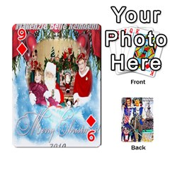 Ashleigh & Raul Quiroz Family s Cards By Pamela Sue Goforth   Playing Cards 54 Designs   Xe0yknn84jma   Www Artscow Com Front - Diamond9