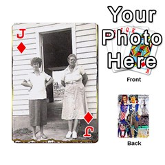 Jack Ashleigh & Raul Quiroz Family s Cards By Pamela Sue Goforth   Playing Cards 54 Designs   Xe0yknn84jma   Www Artscow Com Front - DiamondJ