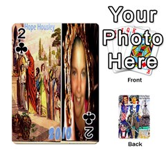 Ashleigh & Raul Quiroz Family s Cards By Pamela Sue Goforth   Playing Cards 54 Designs   Xe0yknn84jma   Www Artscow Com Front - Club2