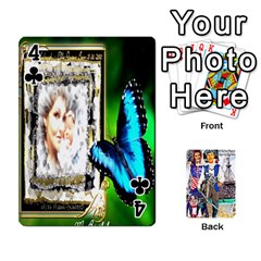 Ashleigh & Raul Quiroz Family s Cards By Pamela Sue Goforth   Playing Cards 54 Designs   Xe0yknn84jma   Www Artscow Com Front - Club4