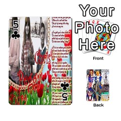 Ashleigh & Raul Quiroz Family s Cards By Pamela Sue Goforth   Playing Cards 54 Designs   Xe0yknn84jma   Www Artscow Com Front - Club5